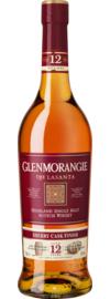 Glenmorangie Lasanta 12 Years Sherry Cask Finish Highland Single Malt Whisky, 0,7 L, 43% Vol.