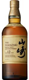 Yamazaki 12 Years Single Malt Japanese Whisky 0,7 L, 43% Vol.