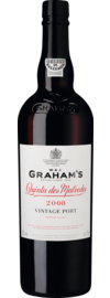 Graham's Quinta dos Malvedos Vintage Port Vinho do Port DOC, 20,0 % Vol., 0,75 L 2008