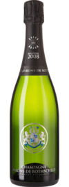 Champagne Barons de Rothschild Millésime Brut, Champagne AC, Geschenketui 2008
