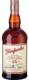Glenfarclas 15 Years Single Malt Scotch Whisky Speyside, Schottland, 0,7 L, 46% Vol., in Etui